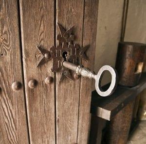 Curiosa la llave que abre los molinos