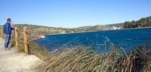 Las lagunas de Ruidera se ubican en el Alto Valle del Río Guadiana