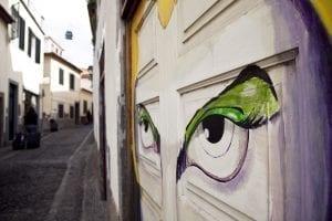 Las puertas pintadas de Funchal son un reclamo para los visitantes