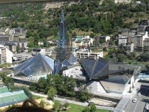 Vista de Caldea, Andorra