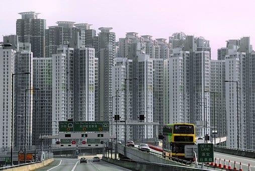 Hong Kong es una ciudad vertical por los problemas de espacio