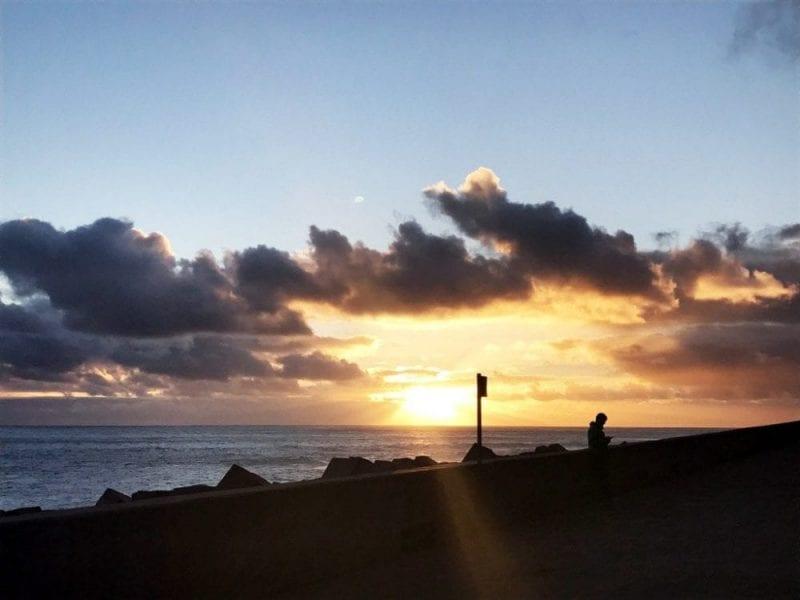 Los atardeceres de Madeira, muy románticos