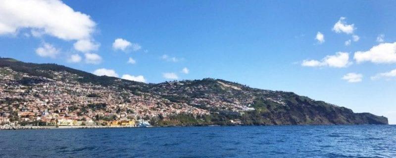 Funchal vista desde el mar