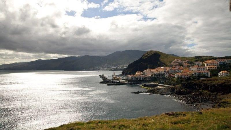 Ponta do sol, hermoso pueblecito en la costa sur de Madeira