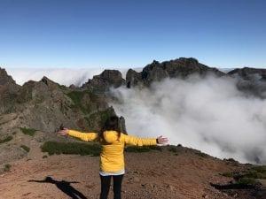En Madeira puedes abrazar las nubes
