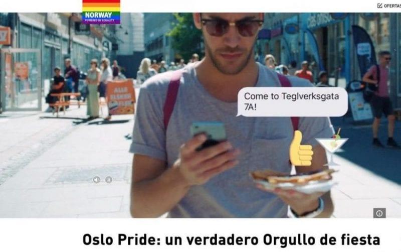 "Captura del video ""Proud Experience in Oslo"""
