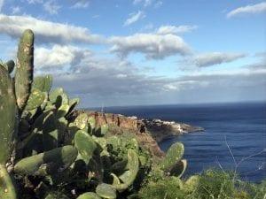 La costa de Madeira es bella y abrupta