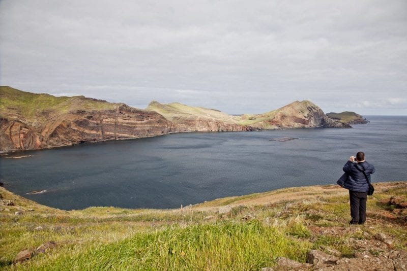 Paorámica de la punta de San Lorenzo