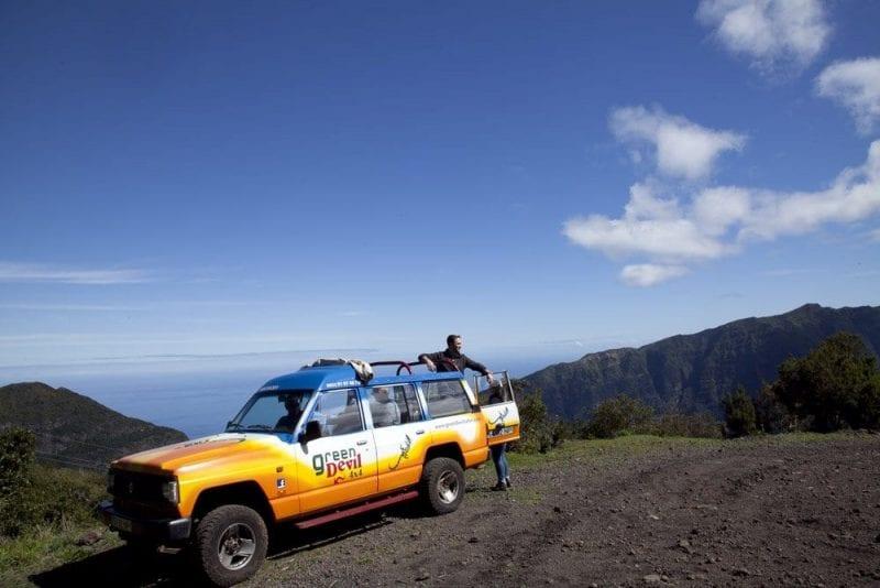 Para recorrer Madeira, lo mejor ir en todoterreno