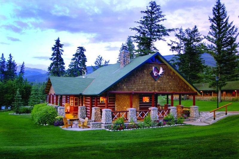 Las cabañas del Jasper Parck Lodge están equipadas con todas las comodidades