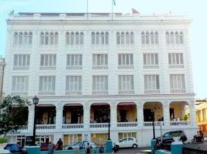 Fachada del hotel Casa Granda, originario de 1920