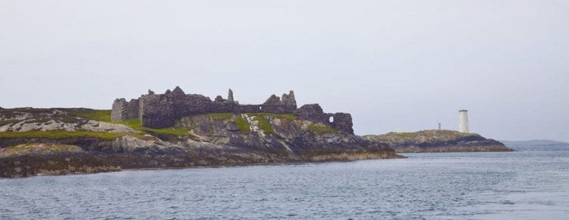 Retos del fuerte de Cromwell en Inishbofin