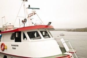 El ferry a Inishbofin cuesta unos 20 euros (ida y vuelta)
