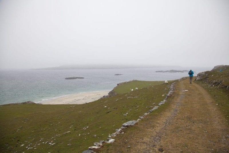 Inishbofin es un paraíso para amantes del senderismo