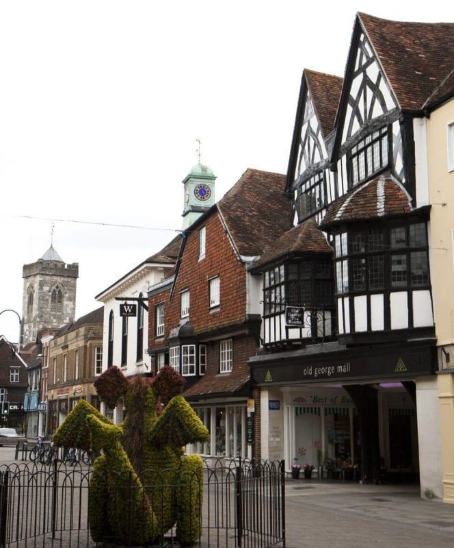 Detalle de una calle de Salisbury
