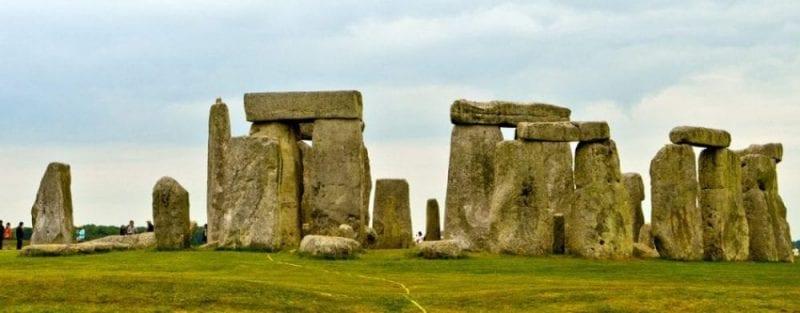 Detalle de las piedras de Stonehenge