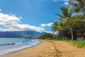 Las playas de Hawai son paradisíacas