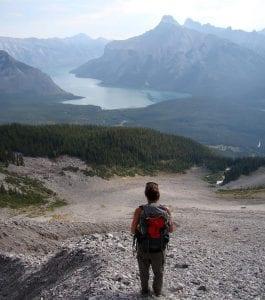 En Banff y Jasper hay muchas rutas de senderismo a cual más hermosa