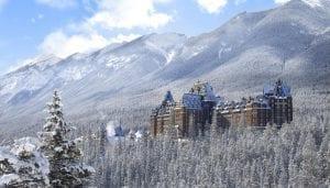El Fairmont Banff springs se construyó en 1888