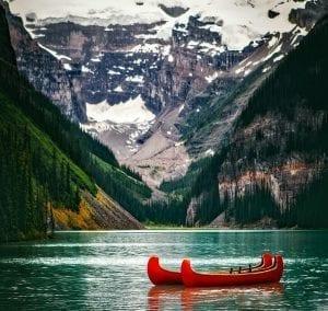 Banff y Jasper son dos parques de paisajes impactantes