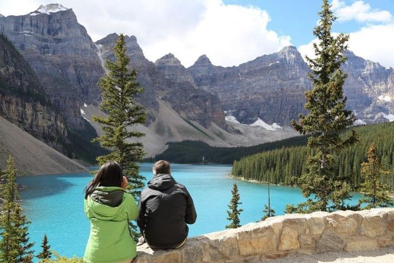 Lago Morraine, otro de los iconos de Banff
