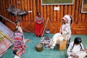 En Banff hau un museo dedicado a los indios nativos