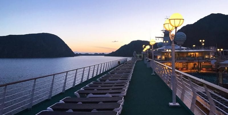 En verano en Noruega se viven las noches blancas