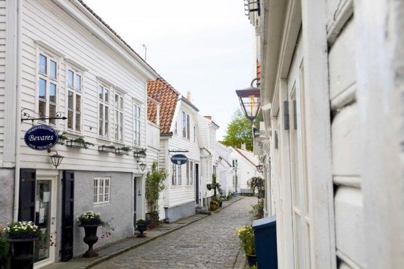 Otro rincón del casco histórico de Stavanger