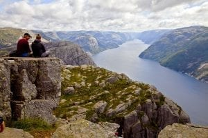 Stavanger noruega panoramica