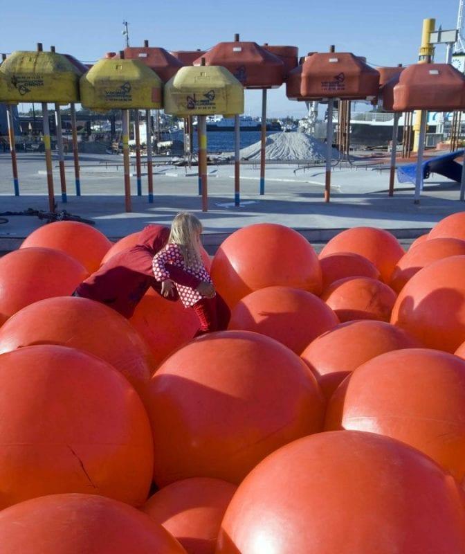 El geoparck, muy divertido para los niños