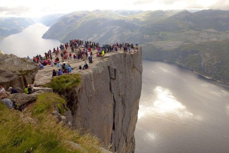 El Púlpito es la atracción más visitada de Noruega