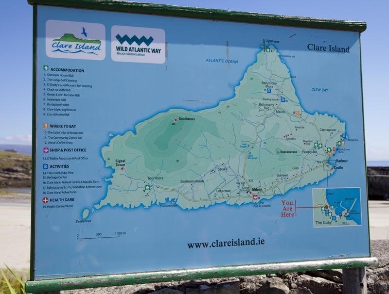 Mapa de Clare
