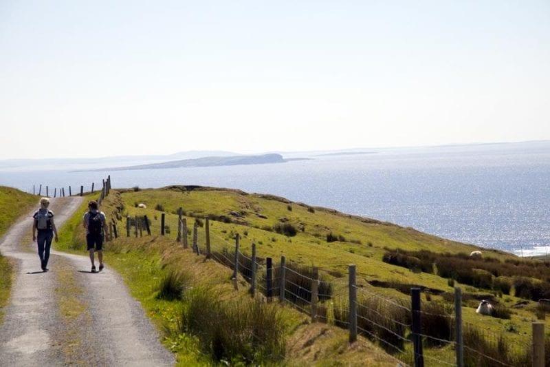 La isla de Clare es un paraíso para senderistas