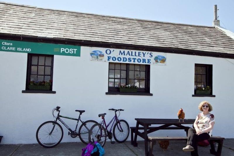 La isla está llena de alusiones a Grace O'Malley