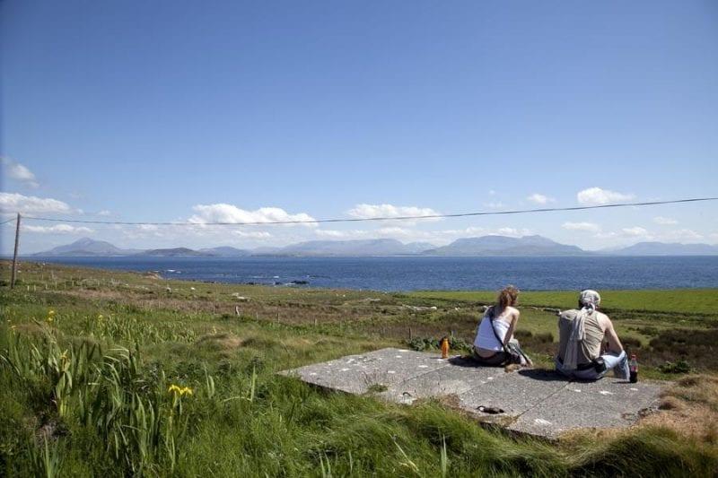 La isla de Clare, buen lugar para descansar