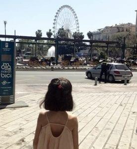 La noria, la reina del paseo marítimo de Málaga