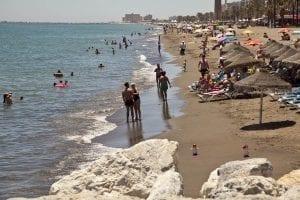 Playa de Huelin