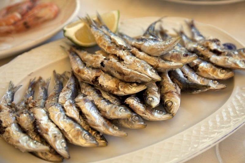 Sardinas, típicas en las cartas en verano