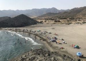 Panorámica de la playa de Monsul