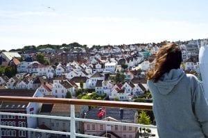 Vista de Stavanger desde el Monarch