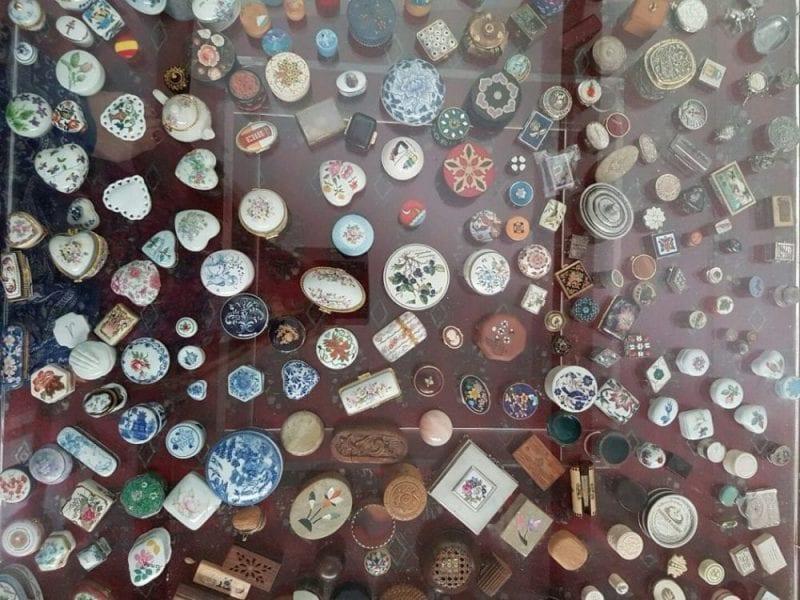 Colección de cajitas