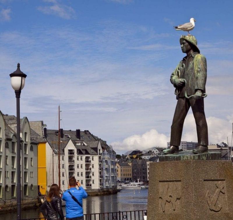 La pesca, siempre presente en Alesund