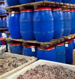 Detalle fábrica La fábrica de arenques Kyvik