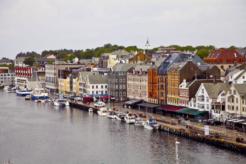 Panorámica de Haugesund