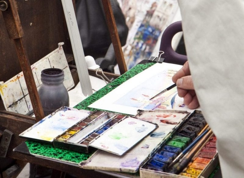 París está llena de artistas