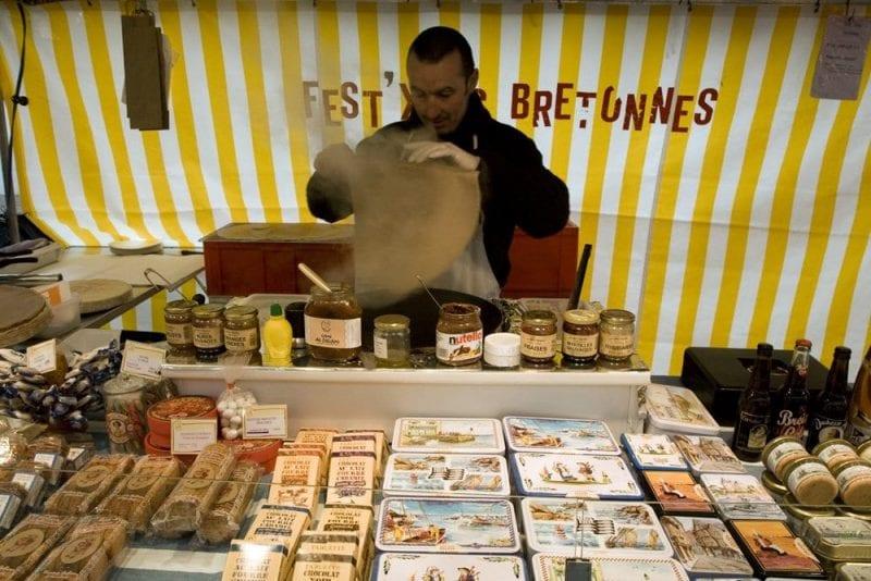 Hay en París mercadillos callejeros deliciosos