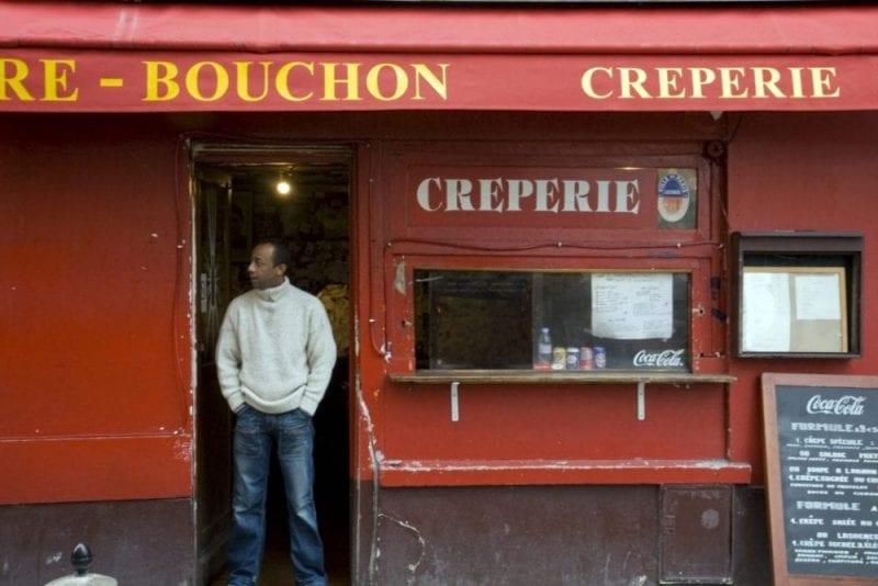 Restaurante creperie en Montmartre