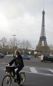 La Torre Eiffel se ve desde muchos puntos de París
