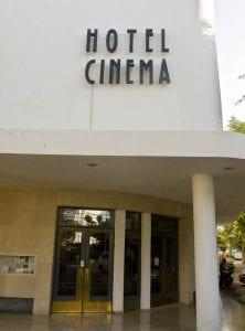El hotel Cinema, otro ejemplo de arquitectura de la Bauhaus