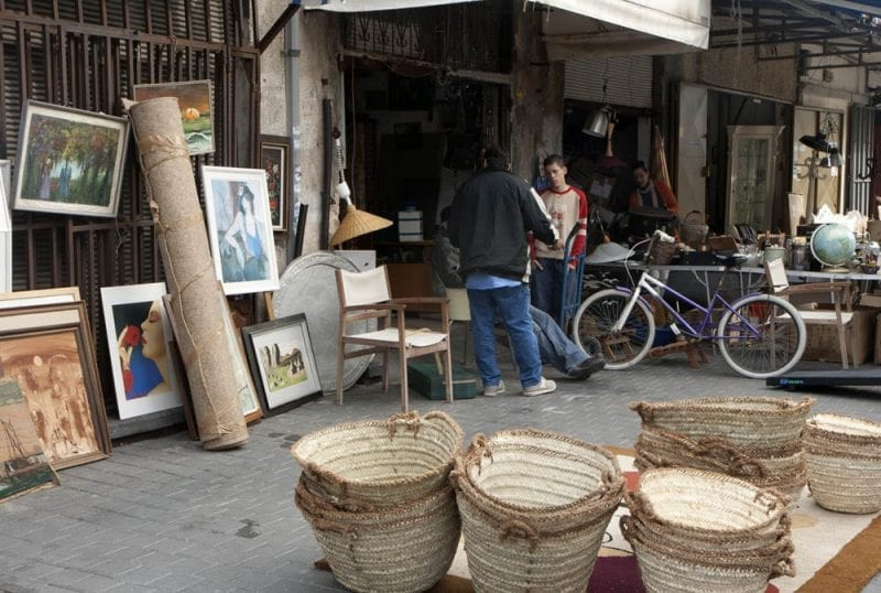 Flea Market en Jaffa